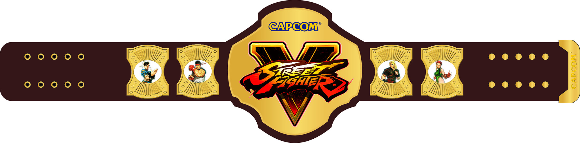 Street Fighter V Champion Gürtel - Version1
