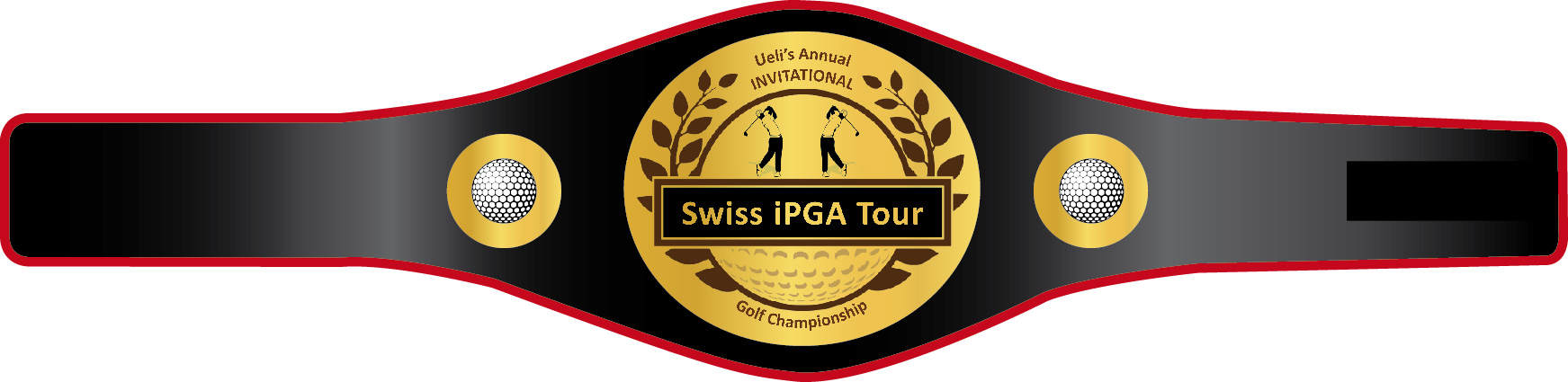 Swiss IPGA Tour Golf Champion Gürtel