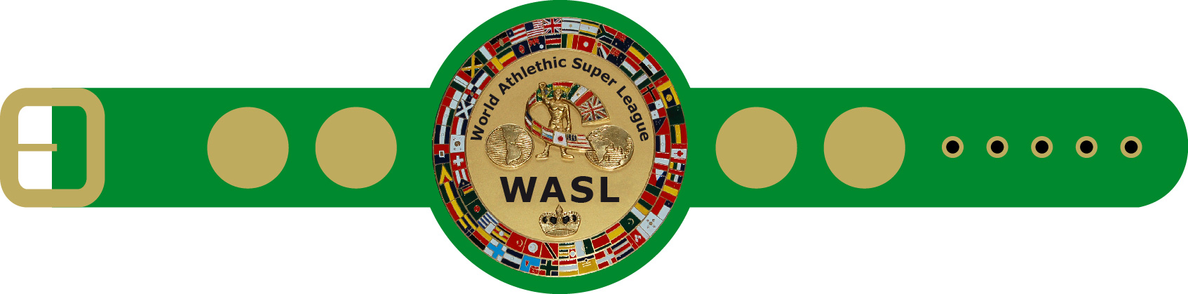 WASL - World Athletic Super League Champion Gürtel